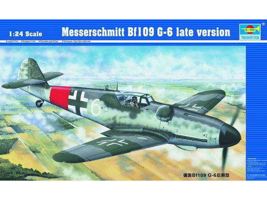 Trumpeter 02408 Messerschmitt Bf 109 G-6 späte Version