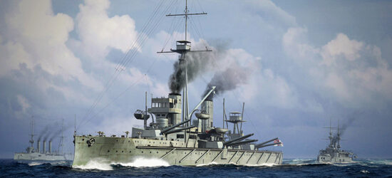 Trumpeter  06705 1/700 HMS Dreadnought, 1915