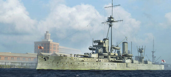Trumpeter  06706 1/700 HMS Dreadnought, 1918