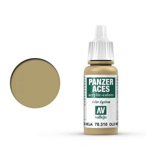 Vallejo 70310 Panzer Aces Gealtertes Holz, 17 ml