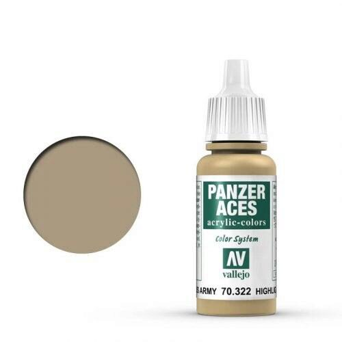Vallejo 70322 Panzer Aces US-Army Panzersoldat, 17 ml
