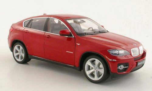 Welly 160277 BMW X6 rot