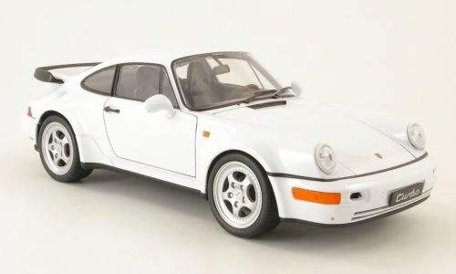 Welly 163990 Porsche 911 Turbo (964) weiss