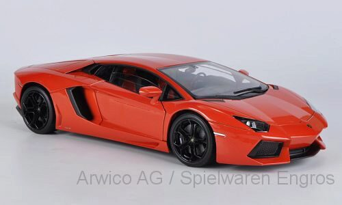 Welly 182687 Lamborghini Aventador LP 700-4 orange