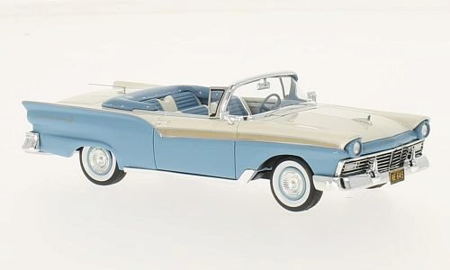 NEO 185944 Ford Fairlane 500 Convertible hell-blau/weiss