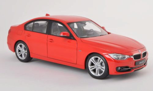 Welly 188024 BMW 335i rot