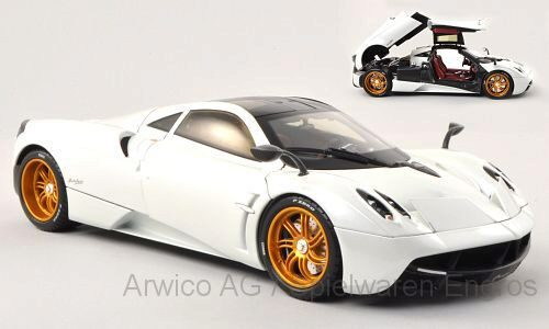 Welly 191992 Pagani Huayra, met-weiss (GTA-edition)