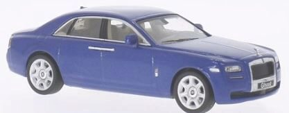 White-Box 199987 Rolls Royce Ghost, metallic-dblau
