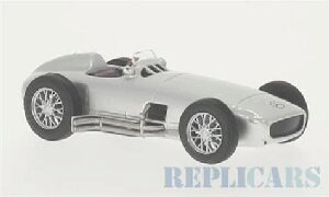 White-Box 201996 Mercedes W 196, silber