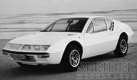 White-Box 204710 Alpine Renault A310 1600, gelb