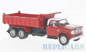 White-Box 210277 Dodge D 950, rot/weiss