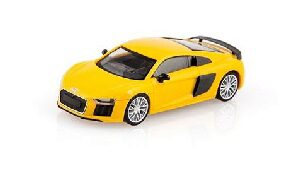 Welly 211206 Audi R8 V10, gelb
