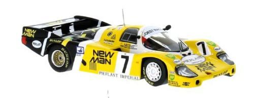 IXO 213271 Porsche 956, No.7, New Man, 24h Le Mans