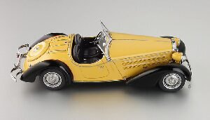 CMC M-075A Audi 225 Front Roadster, black/yellow Limited Edition 4,000 pcs.
