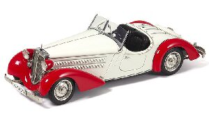 CMC M-075C Audi 225 Front Roadster, red/white Limited Edition 4,000 pcs.