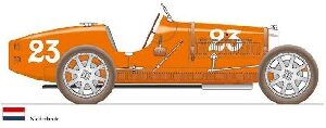 CMC M-100-010 Bugatti T35, Netherlands, Limited Edition 500 pcs.