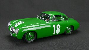 CMC M-158 Mercedes-Benz 300 SL Great Price of Bern, 1952 #18 green Limited Edition 1,500 pcs.