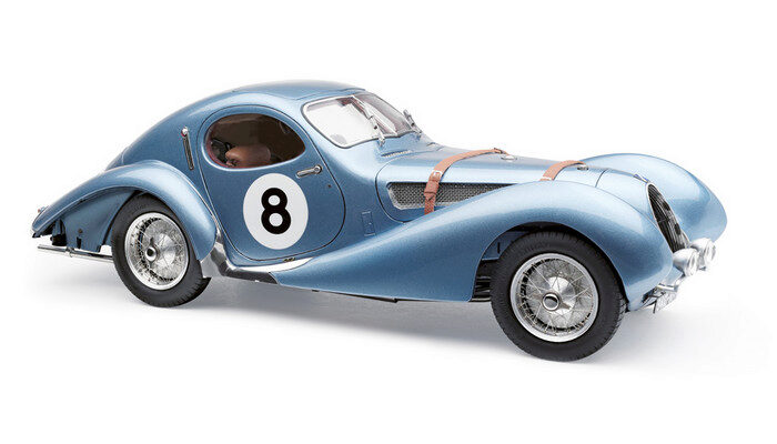 "CMC M-167 Talbot-Lago Coupé T150 C-SS Figoni & Falaschi ""Teardrop"", Racing Version Le Mans #8, 1937-39 Limited Edition 1,500 pcs."