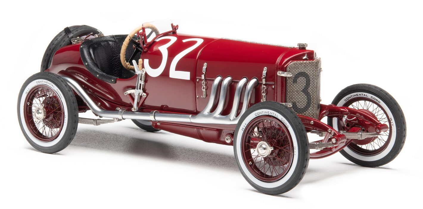 CMC M-187 Mercedes-Benz Targa Florio, 1924, red #32 Christian Lautenschlager / Wilhelm Traub 2nd place, Limited Edition 1,000 pcs.