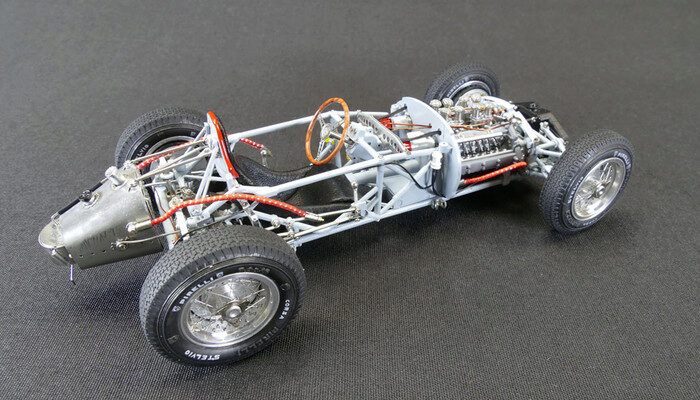 CMC M-198 Lancia D50, 1955 Rolling Chassis including base plate, Limited Edition 1,000 pcs.