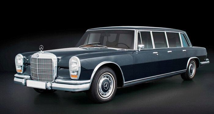 CMC M-200 Mercedes-Benz (W100) 6-door Pullman (further variations will follow)