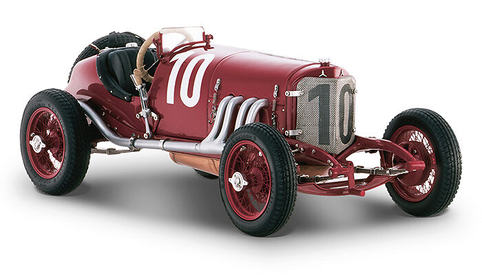 CMC M-203 CMC Mercedes-Benz Targa Florio, 1924, red #10 Christian Werner / Karl Sailer WINNER