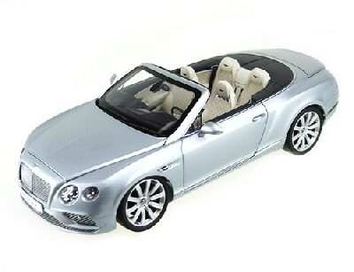JADI PA98231 Bentley Continental GT Convertible, silver