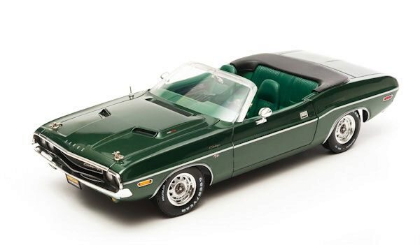 Greenlight 12841 1970 Dodge Challenger HEMI Convert. Green