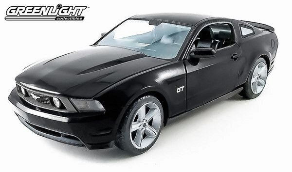 Greenlight 12869 2010 Ford Mustang GT - Black
