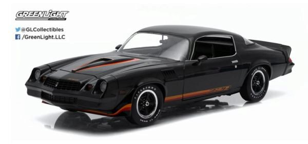 Greenlight 12905 1979 Chevy Camaro Z/28 black