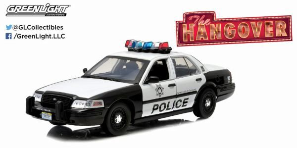 Greenlight 12911 2000 Ford Crown Victoria Police