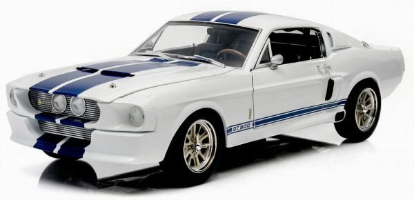 Greenlight 12929 1967 Shelby GT-500 red with blue stripes