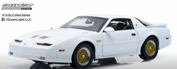 Greenlight 12932 1989 Pontiac Trans Am TTA Hardtop white