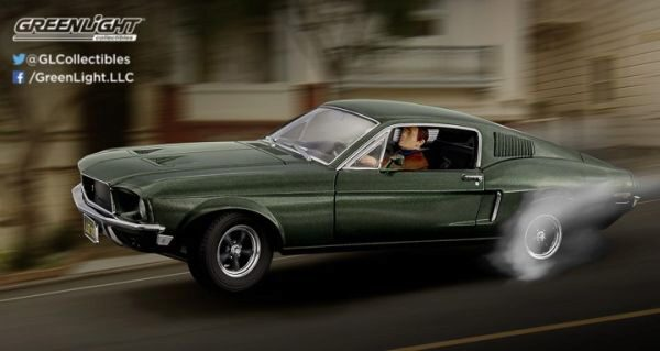 Greenlight 12938 1968 Ford Mustang GT Fastback