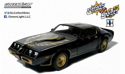 Greenlight 12944 1980 Pontiac Firebird Trans Am Turbo 4.9L