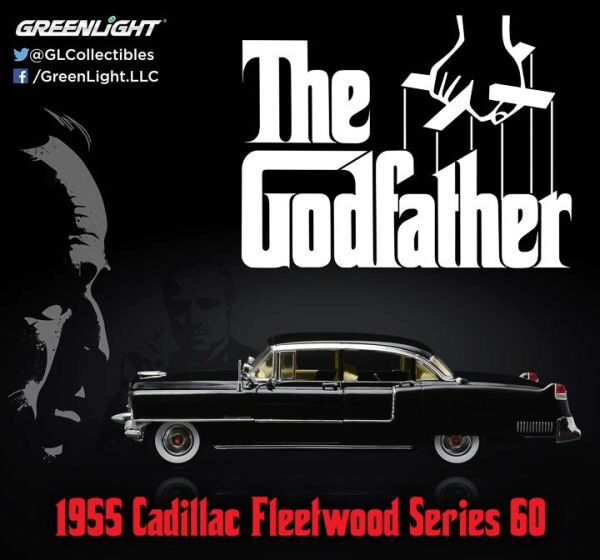 Greenlight 12949 1955 Cadillac The Godfather (1972)