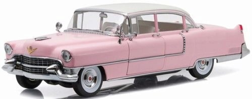 Greenlight 12950 1955 Pink Cadillac Fleetwood - Elvis Presley