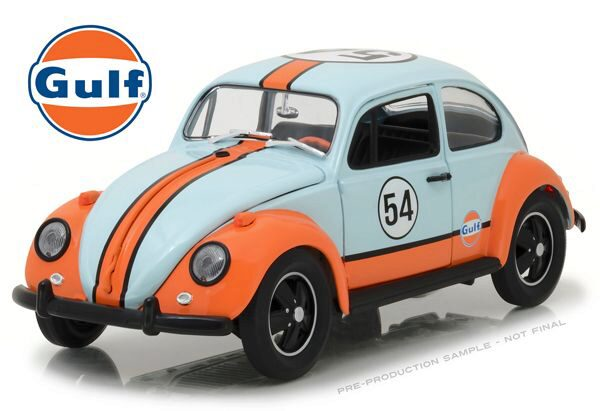 Greenlight 12994 Volkswagen Beetle Gulf Oil Racer