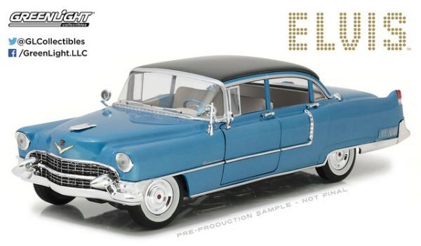 Greenlight 13502 1955 Cadillac Fleetwood - Elvis Presley