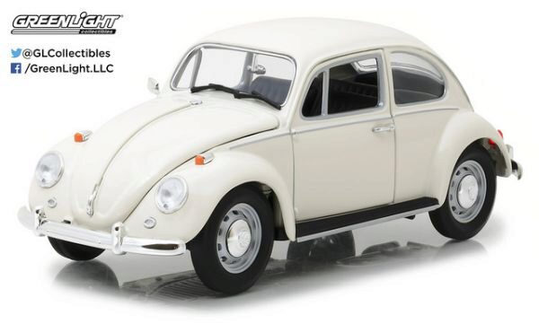 Greenlight 13510 Volkswagen Beetle 1967, Lotus White