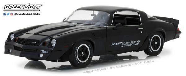 Greenlight 13519 1981 Chevrolet Z/218 Yenko Turbo Z Black