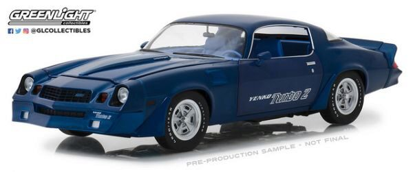 Greenlight 13520 1981 Chevrolet Z/218 Yenko Turbo Z Blue