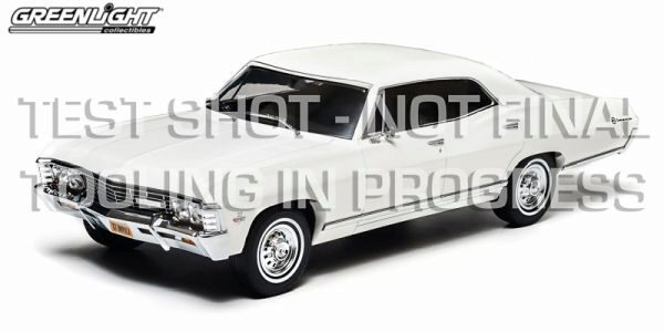 Greenlight 19002 1967 Chevrolet Impala Sport Sedan, white