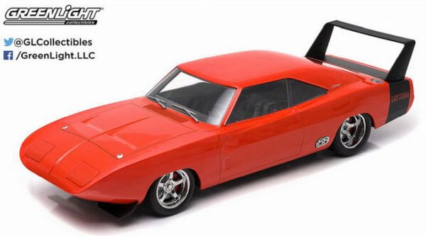 Greenlight 19004 1969 Dodge Charger Daytona Custom, red
