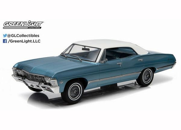 Greenlight 19008 1967 Chevrolet Impala Sport Sedan