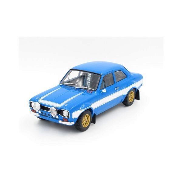 Greenlight 19022 1974 Ford Escort RS2000 Mk1 blue w/white stripes