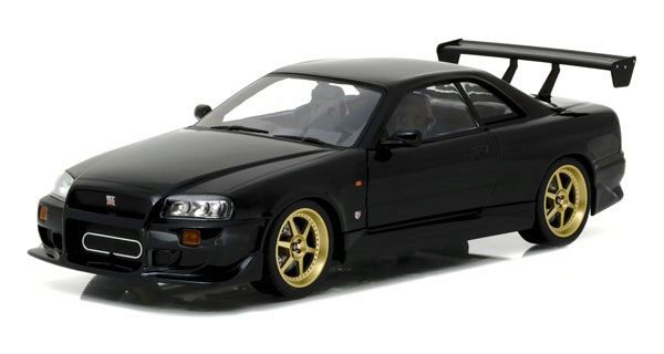 Greenlight 19030 Nissan Skyline GT-R (R-34) Black Pearl