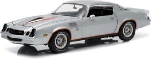Greenlight 12900 1978 Chevy Camaro Z/28 silver metallic w/orange st