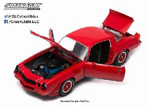 Greenlight 12901 1979 Chevy Camaro Z/28 red w/black stripes