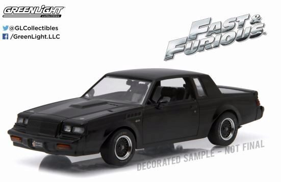Greenlight 86231 1987 Buick Grand National GNX